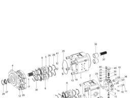 Гидравлический насос для Hyundai 100D-7; 120D-7; 135D-7