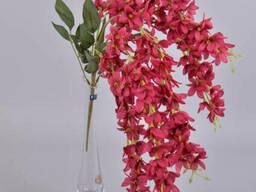 Глициния свисающая марсала 60 см Цветы искусственные