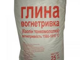 Глина огнеупорная (мешок 25 кг)