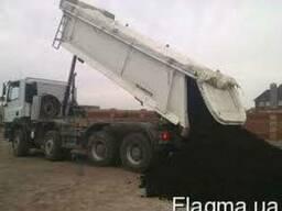 Самосвалы для вывоза мусора, грунта, глины, 15-40 тонн