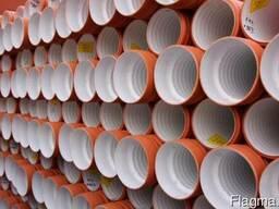 Гофрированная труба канализационная ДУ160 купить цена