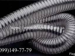 Гофрированный полиуретановый рукав d-102x0, 5мм