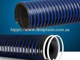 Гофрированный шланг для ассенизатора PVC D-125mm