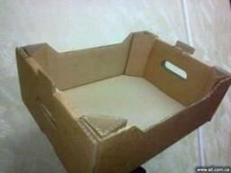 Ящик из пятислойного гофрокартона для ягод, фруктов и овощей