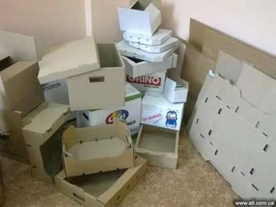 Гофротара, гофроящики, картонные коробки