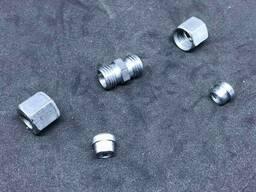 GOK Газовий адаптер прямий для труб, G-RVS8 * RVS8 для зєднання труби діаметром 8мм. ..