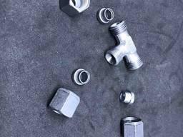 GOK Трійник газовый Т-подібний RVS8 mm * RVS8 mm для зєднання труб діаметром 8мм 0033