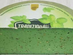Голландский сыр зеленый Песто/Голандскій сир зелений песто