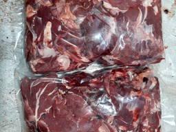 Головизна говяжья, мясо голов рубленое