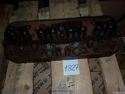 Головка блока цилиндров ЮМЗ с клапанами (реставр) (пр-во Укр