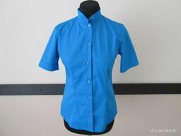 Рубашка с коротким рукавом для официанта, униформа бармена