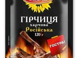 Горчица Российская Олком Д/П 120г