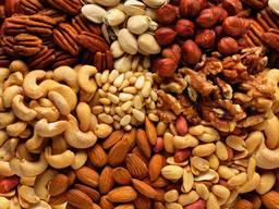 Горіхи, арахіс, фундук
