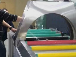 Горизонтальная упаковочная машина в стретч-пленку