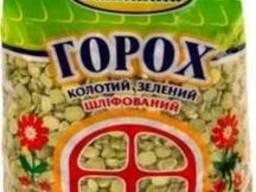 Горох колотий зелений шліфований, 1 кг