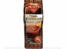 Горячий шоколад Hearts Trink-Schokolade 1кг (Германия) 4021155108645