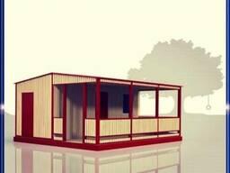 Гостевые коттеджи, домики для баз отдыха, санаториев