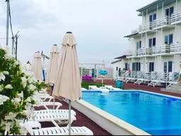 Гостиница отель в Затоке, Каролино-Бугаз, первая линия