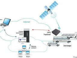 GPS контроль топлива.