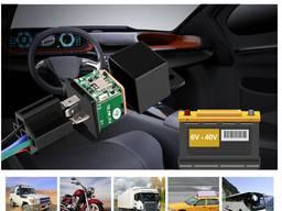 GPS трекер автомобильный MV720 модуль реле сигнализация