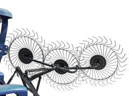 Граблі механічні Сонечко 3Р - причіпне три точки (ГР5)