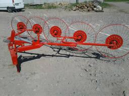 Сеноворошилка 4 колеса Польша