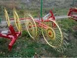 Грабли ворошилки 5 колёс - фото 4