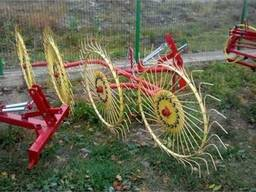 Грабли ворошилки 5 колёс - фото 5