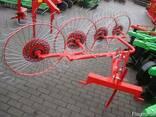 Грабли-ворошилки Agromech на круглой трубе - фото 1