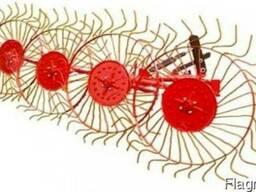 Грабли-ворошилки на 4 колеса