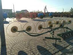 Грабли ворошилки навесные - 5 колесные