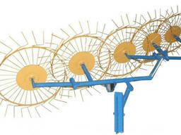 Грабли ворошилки навесные 5-ти колесные (Солнышко)