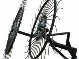 Грабли-ворошилки тракторные Премиум на 3 колеса
