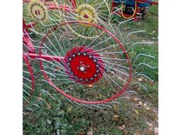 """Грабли-ворошилка """"Солнышко"""" на 5 колёс PZ-205 - фото 2"""