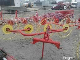 Грабли-ворушилка (валковые) на 4 колеса - фото 1