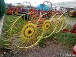 Грабли-ворушилка (валковые) на 4 колеса - фото 5