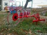 Грабли-ворушилка (валковые) на 5 колёс - фото 4