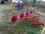 Грабли-ворушилка (валковые) на 5 колёс - фото 5