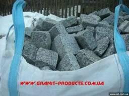 Гранитная брусчатка по ценам производителя Днепропетровск