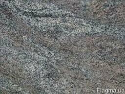 Гранитная плита paradiso полировка 3 см черно-серо-сиреневый