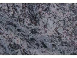 Гранитная плита Vizag Blue полировка 2 см серо-голубой
