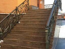 Гранітні сходи, плитка для сходів з граніту
