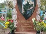 Гранитный памятник Одинарный - фото 3