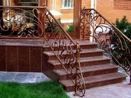 Гранитные ступени для крыльца Одесса