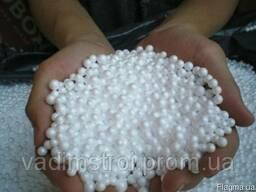 Гранула полистирола (шарик пенопластовый) 3-5 мм