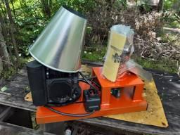 Гранулятор 2.2 кВт до 60 кг. час матрица 120 мм