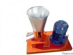 Гранулятор комбикорма бытовой с плоской матрицей 100мм 1, 5кв