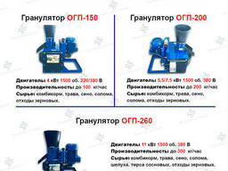 Гранулятoр МГК-260 кормов и пеллет