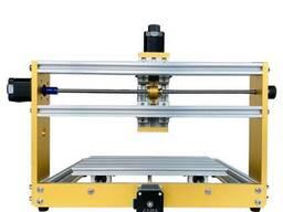 Гравер CNC 3018 PLUS фрезер ЧПУ станок 300W + лазер 2500 мВт