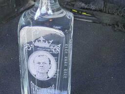 Гравировка бутылок
